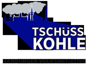 Tschüss Kohle Logo der Hamburger Volksinitiative