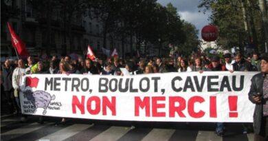 Solidaritätserklärung zu den Streiks und Demonstrationen in Frankreich