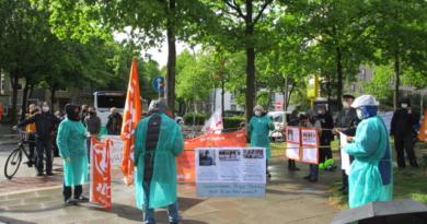 Solidaritätserklärung zu den Aktionen und Streiks des Pflegepersonals in Frankreich am 16. Juni 2020